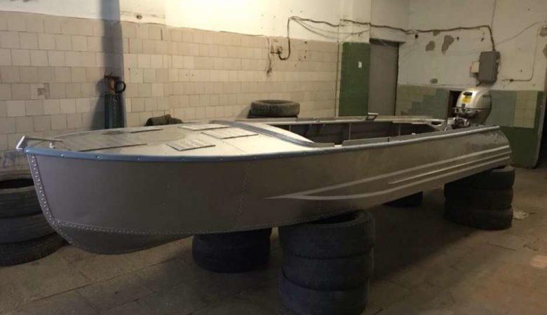 Лодка Казанка хранение в зимний периуд