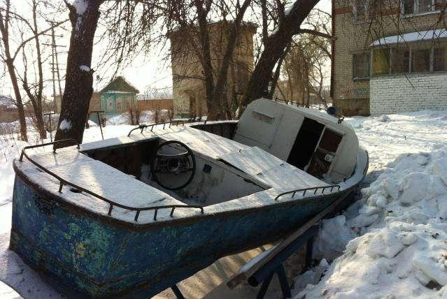 общий вид лодки гулянки