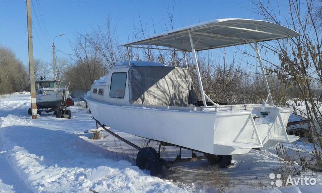 плоскодонная лодка Гулянка