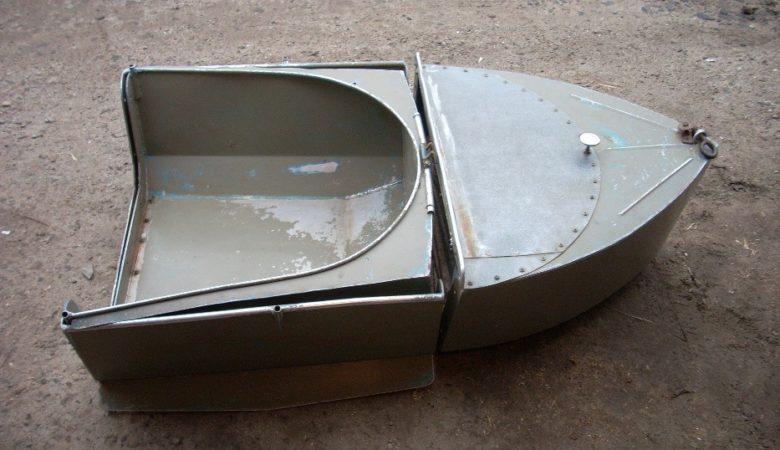 Лодка Малютка в сложенном виде