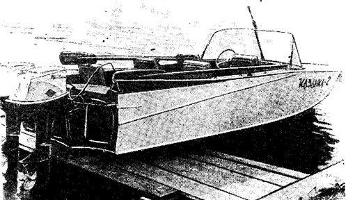 Лодка Казанка 2
