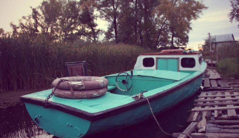 рубка лодки Гулянка