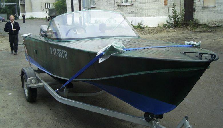 Лодка Казанка 2м