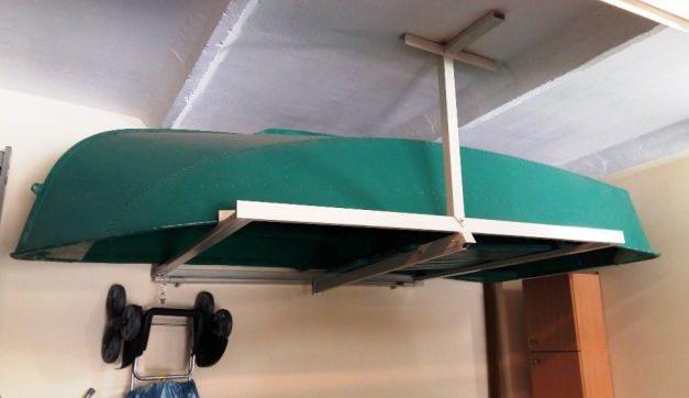 Хранение лодки Ерш