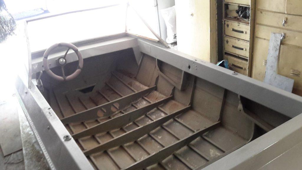 фото шпангоутов на лодке