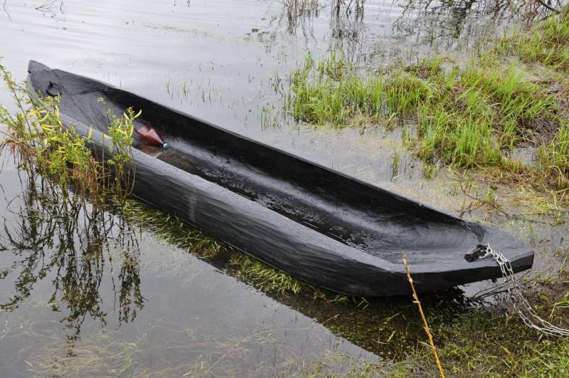 лодка долбленка
