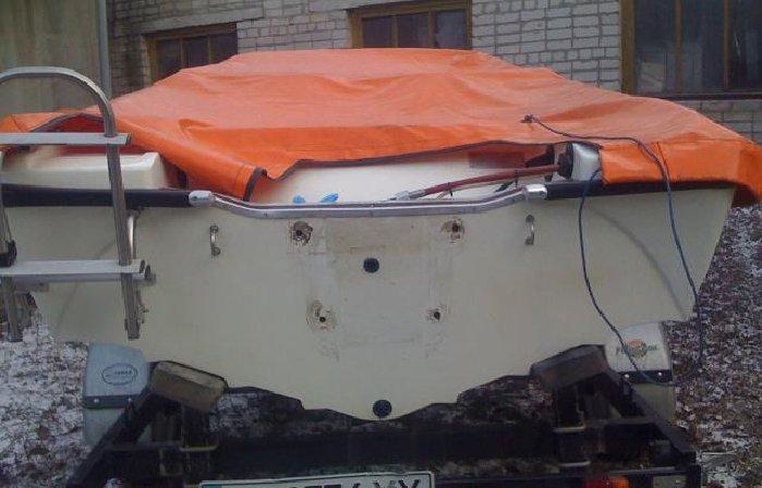 транец лодки