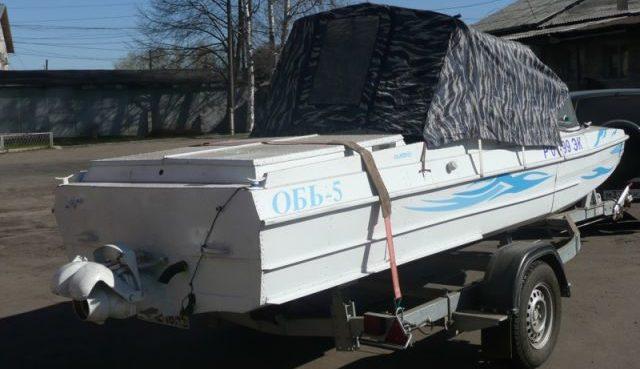 Лодка Обь 5